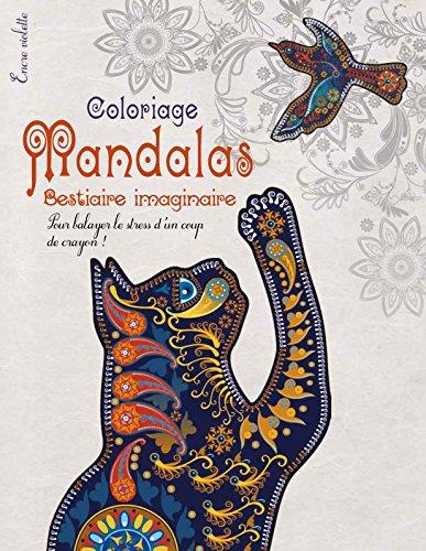 Coloriage Mandalas Bestiaire imaginaire Grand Format