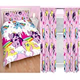 My Little Pony – Equestria doble funda de edredón + A juego 182,88 cm cortinas