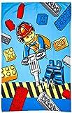 LEGO City Konstruktion Fleece Decke-Großer Print