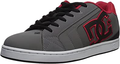 DC Shoes Men's Net Low Top Sneaker Shoes Black Blue