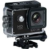 """SJCAM SJ4000 (versión española) - Videocámara Deportiva (LCD, 2"""", 1080p, 30 fps, Sumergible), Color Negro (Reacondicionado Ce"""