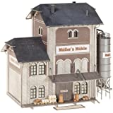 Faller 130228 Industrial Flour Mill HO Scale Building Kit