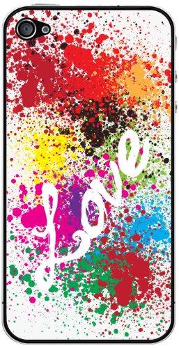 Cellet Love Skin für iPhone 4 / 4S, Weiß - Bildschirm Für 4 Iphone Sprint