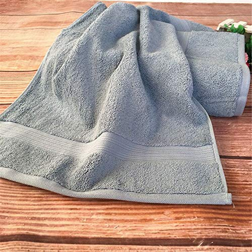 DREI Badetücher, Reine Baumwolle Badetücher, DREI Handtücher, Handtuch - Handtücher,Dunkler Bläulich Grauen,DREI Stück Setzen -