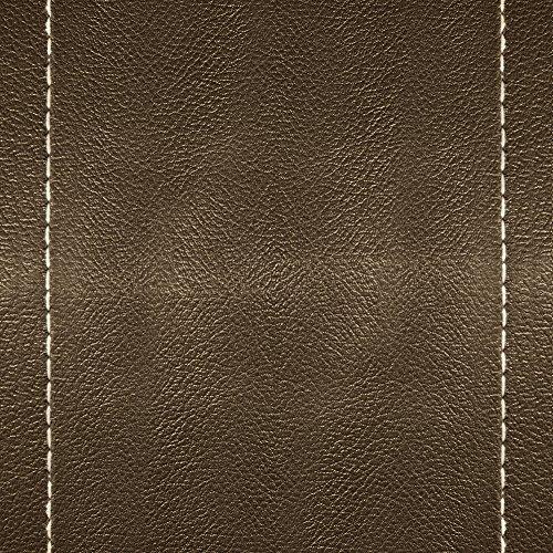 Apple iPhone 5s Case Skin Sticker aus Vinyl-Folie Aufkleber Braunes Leder Look Lederstruktur DesignSkins® glänzend