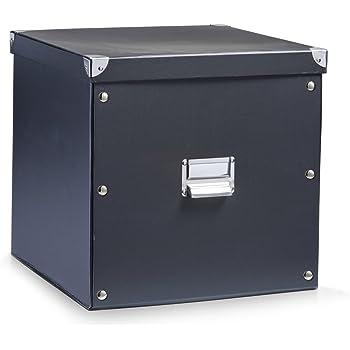 Zeller 17635 Aufbewahrungsbox, Pappe / 33.5 x 33 x 32