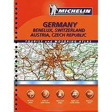 Michelin Germany, Benelux, Switzerland, Austria, Czech Republic (Michelin Germany, Austria, Benelux, Switzerland, Czech Republic Atlas)