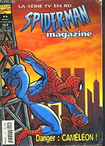 SPIDERMAN MAGAZINE - LA SERIE TV EN BD - N° 8 - NOVEMBRE 1996