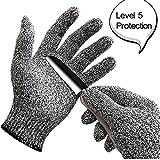 WISLIFE Cut Resistant Gloves ;Level 5 Pr...
