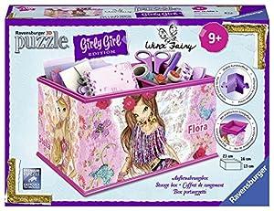 Ravensburger Italy-Puzzle 3D Girly Girl Almacenamiento Winx