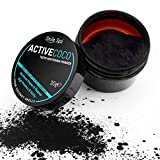 ActiveCoco Activated Charcoal Teeth Whitening Powder | 30 Grams 100% Coconut Charcoal | Active Coco Teeth Whitening Booster | Sbiancamento denti con carbone attivo | dentifricio con carbone attivo | More Effective Than Strips, Gels & Most Tooth Whitening Kits immagine