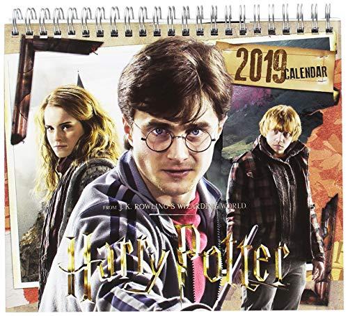 Grupo Erik Editores CS19010 - Calendario de sobremesa 2019 Harry Potter, 17 x 20 cm