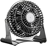 Sichler Haushaltsgeräte Kompakter Tisch-Ventilator VT-111.T, 13 Watt, Ø 11 cm