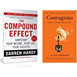 THE COMPOUND EFFECT + CONTAGIOUS: WHY THINGS CATCH ON (Set of 2 Books)