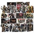 ملصقات خلفية 80 قطعة لعبة aPEX Trunk ملصقات PVC apex legends Graffiti Sticker Guitar Car phone Window حقيبة ملصقات مقاومة للم