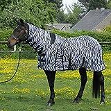 F.Decke Topline 135 Lyon zebra m.Hals
