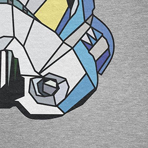 TEXLAB - Troopagon - Herren T-Shirt Grau Meliert