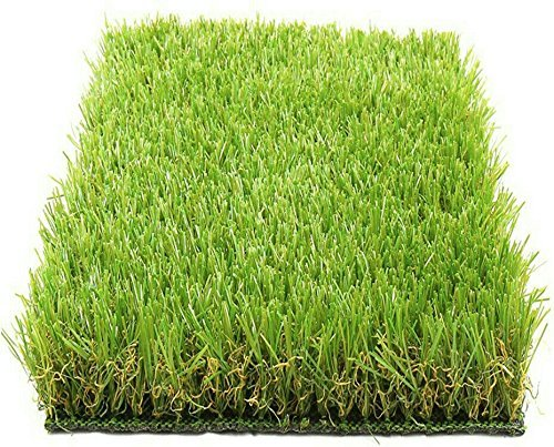 Arificial Grass For Floor, Soft And Durable Plastic Natural Landscape Garden Plastic Turf Carpet Mat, Artificial Grass(6. 5 X 5 Feet) By Lowrence