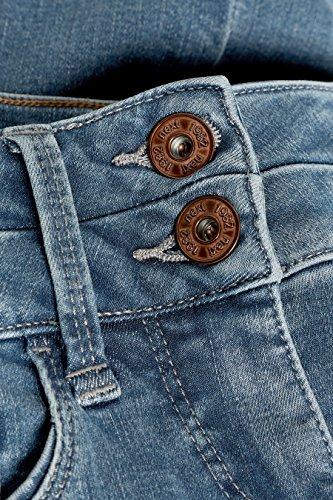 next Donna Jeans Bootcut Effetto Push-Up, Snellente E Modellante Grigio Fosco