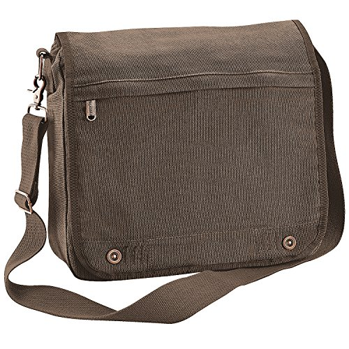 Bagbase - Vintage - Borsa Stile Messenger (14 litri) (Taglia