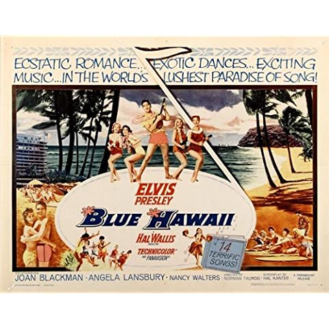 Blue Hawaii 56 x 71 cm (circa)