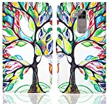 Huawei G8 / GX8 Handy Tasche, FoneExpert® Wallet Case Flip Cover Hüllen Etui Ledertasche Lederhülle Premium Schutzhülle für Huawei G8 / GX8 (Pattern 5)