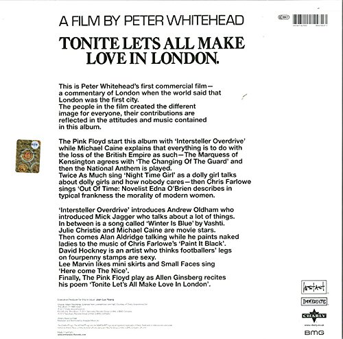 Tonite Lets All Make Love in London - A Film by Peter Whitehead