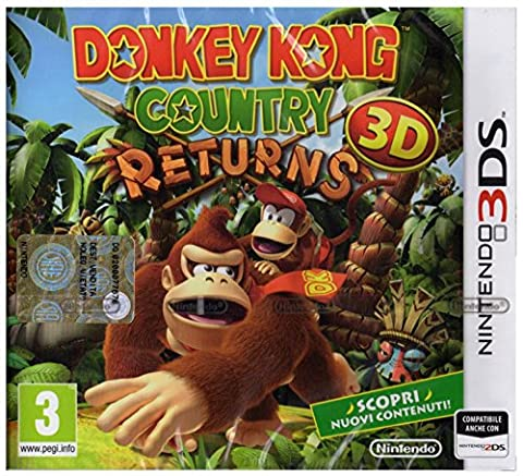 Donkey Kong Country Returns 3D [IT Import]