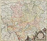 Historische Karte: Das Land Hessen 1696 (Landgraviatus Hassiae) - Plano