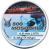 5 lattine Umarex 4,5 mm Mosquito piatto testa Diabolos per fucile ad aria