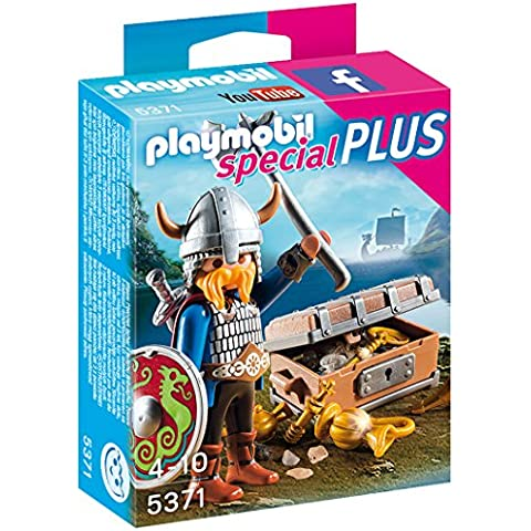 Playmobil - Vikingo con tesoro (53710)