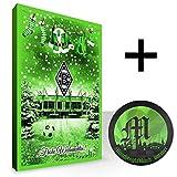 Borussia Mönchengladbach Weihnachtskalender /gefüllter Adventskalender + Teamschokolade Modell 2012 BMG