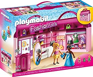 Playmobil Tienda de Moda-6862 Playset,, Miscelanea (6862)