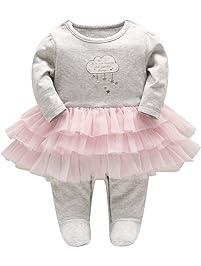 a479717a9224 Combinaisons et barboteuses bébé fille   Amazon.fr