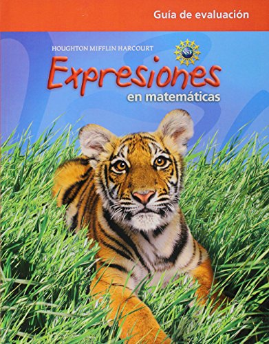Math Expression, Grade 2 Assessment Guide: Houghton Mifflin Harcourt Math Expression Spanish (Math Expressions 2009-2012) por Houghton Mifflin Harcourt