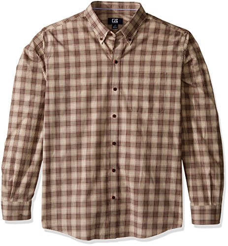 Cutter & Buck Herren Button-down-Hemd Gr. Medium, multi (Woven-sport-shirt Plaid)