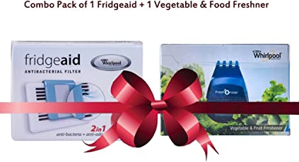 Whirlpool Combo of Fridge Aid and Food Freshener (100g, Black)