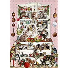 Wand-Adventskalender - Katzen im Advent