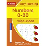Numbers 0-20 Age 3-5 Wipe Clean Activity Book: Prepare for Preschool with Easy Home Learning