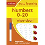 Numbers 0-20 Age 3-5 Wipe Clean Activity Book: Ideal for home learning (Collins Easy Learning Preschool)