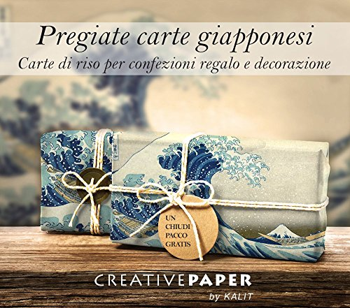 Carta naturale - Carta giapponese da regalo e decorativa: La grande onda di Kanagawa - Hokusai