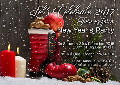 ar New Years Eve Corporate Party Einladungen oder Karten ()