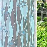 RENQINGLIN Milchglas Folie Opak Beschattung Sonnenschutz Matt Aufkleber Bad Badezimmer Fenster Office Papier 45 Cm*2 M, B
