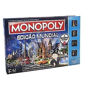 Hasbro Gaming - Juego de Mesa Monopoly Edición Mundial (B2348190) (versión Portuguesa)