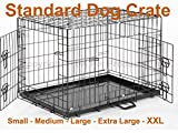 Best Dog Crates - Dog Crate Puppy Cage Small Medium Large XL Review