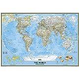 Classic Weltkarte, politisch, laminiert: 1:38931000: Political (Reference - World)
