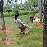 #5: Magideal Nylon Hammock Hanging Mesh Sleeping Bed Swing Outdoor Travel Camping G