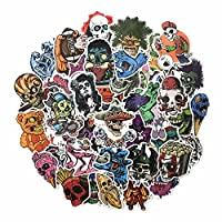 FEZZ 100pcs Stickers Pack Party Sticker Kids Cartoon Graffiti Decals Waterproof DIY Laptop Macbook Car Motorcycle Bicycle Luggage Graffiti Skateboard