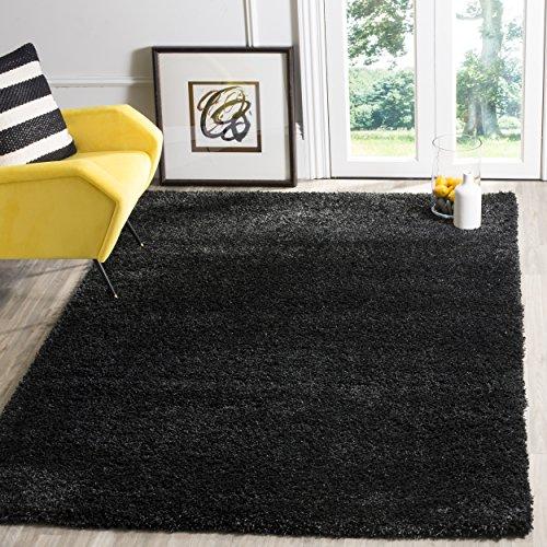 Safavieh Crosby gewebter Teppich, SG151-9090, Schwarz, 160 X 228  cm
