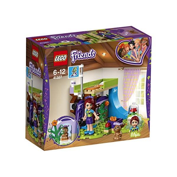 LEGO-Friends La Cameretta di Mia, Multicolore, 41327 2 spesavip